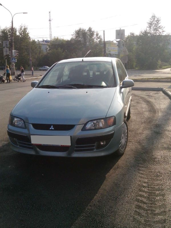 Mitsubishi Space Star, 2004 год, 350 000 руб.