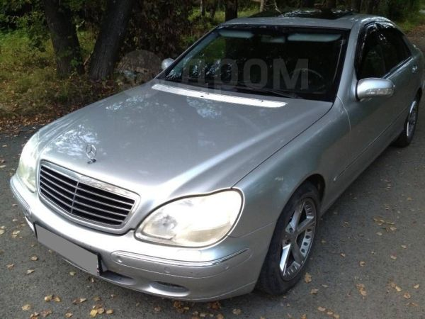 Mercedes-Benz S-Class, 2000 год, 525 000 руб.
