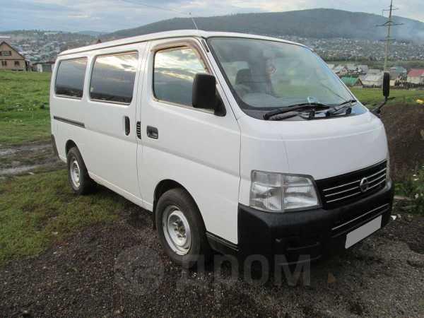 Nissan Caravan, 2001 год, 375 000 руб.