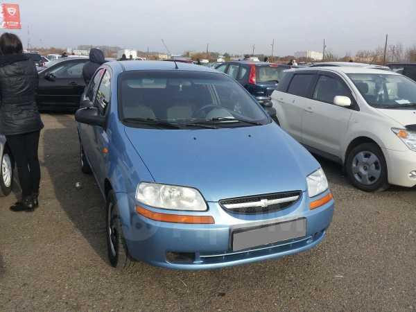Chevrolet Aveo, 2004 год, 230 000 руб.