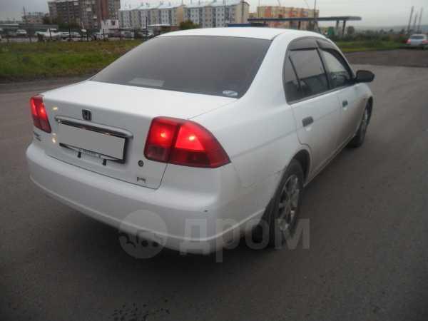 Honda Civic, 2002 год, 245 000 руб.