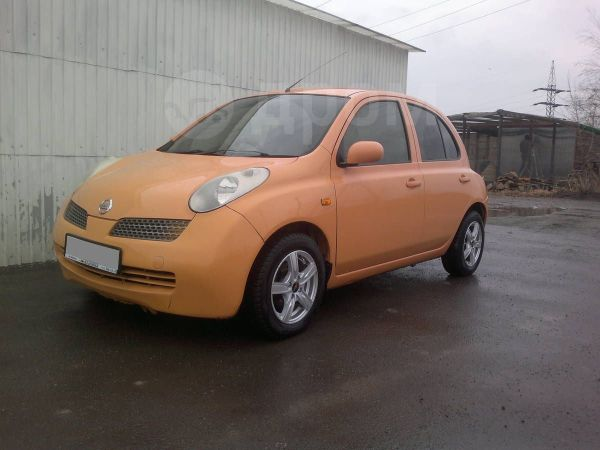 Nissan March, 2002 год, 207 000 руб.