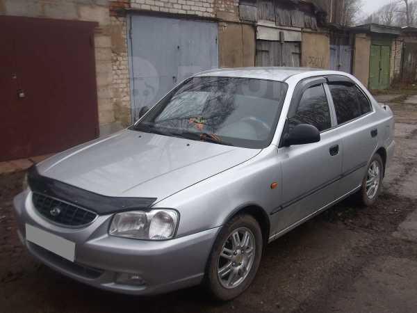 Hyundai Accent, 2004 год, 225 000 руб.