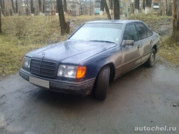 Mercedes-Benz E-Class, 1988 год, 140 300 руб.