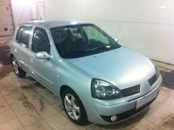 Renault Clio, 2003 год, 165 000 руб.