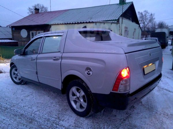 SsangYong Actyon Sports, 2008 год, 495 000 руб.