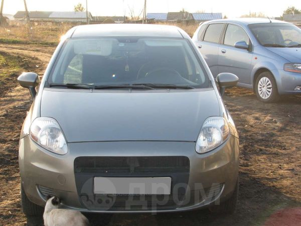 Fiat Grande Punto, 2007 год, 260 000 руб.