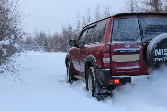 Nissan Patrol, 1998 год, 740 000 руб.