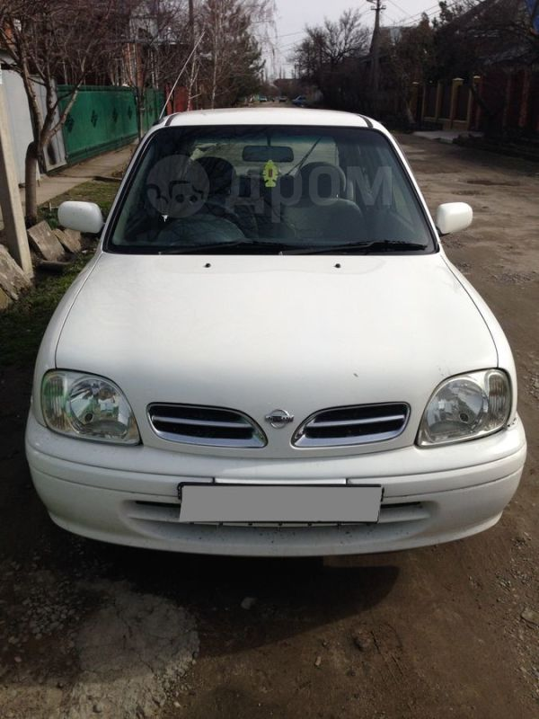 Nissan March, 2001 год, 180 000 руб.