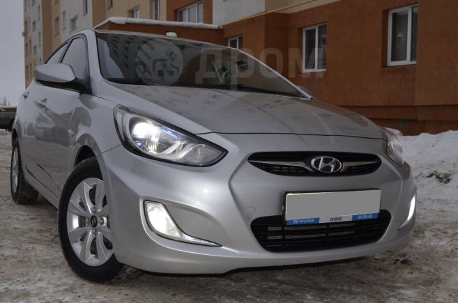 Hyundai Solaris, 2011 год, 419 000 руб.