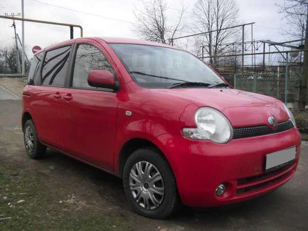 Toyota Sienta, 2004 год, 330 000 руб.