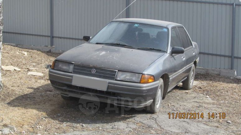 Ford Laser, 1990 год, 40 000 руб.