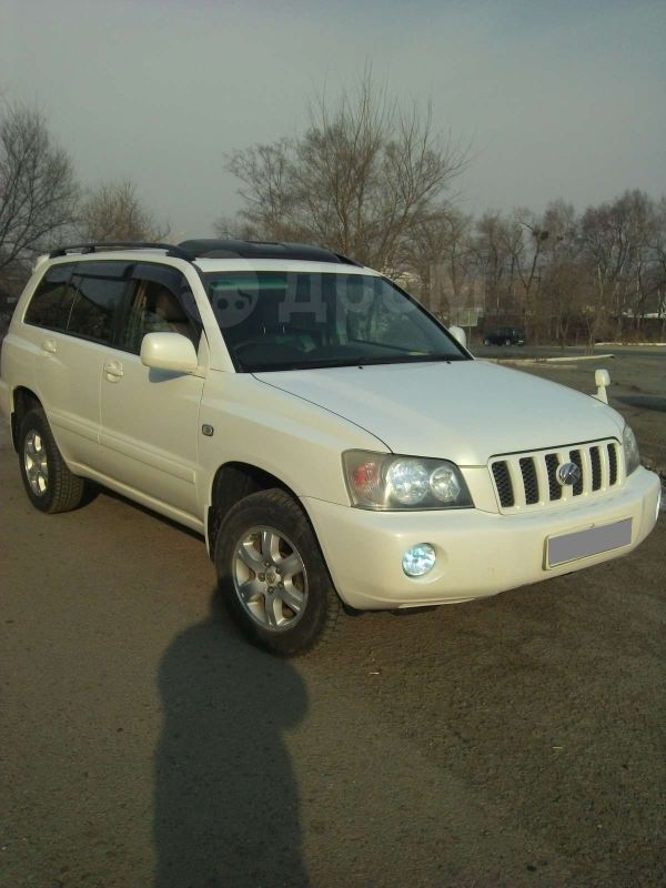Toyota Kluger V, 2001 год, 650 000 руб.