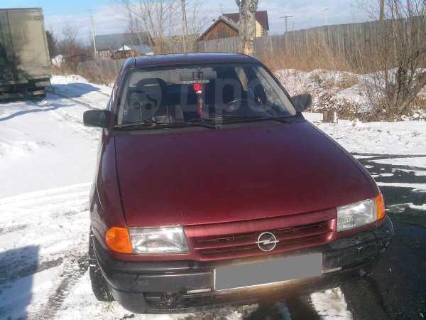 Opel Astra, 1992 год, 78 000 руб.