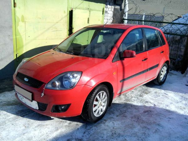 Ford Fiesta, 2007 год, 229 000 руб.