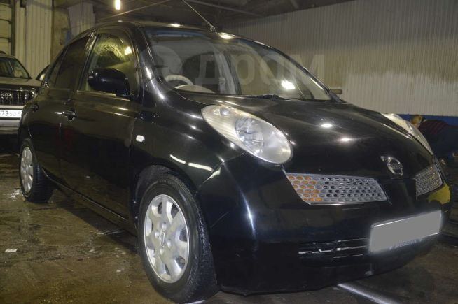 Nissan March, 2003 год, 185 000 руб.