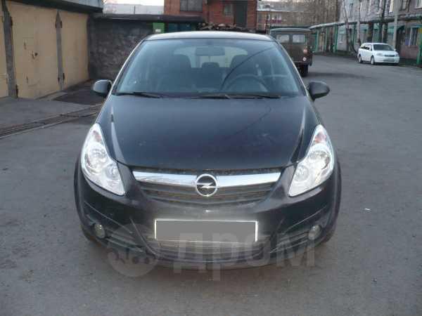 Opel Corsa, 2007 год, 340 000 руб.