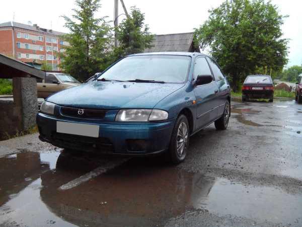 Mazda 323, 1998 год, 160 000 руб.