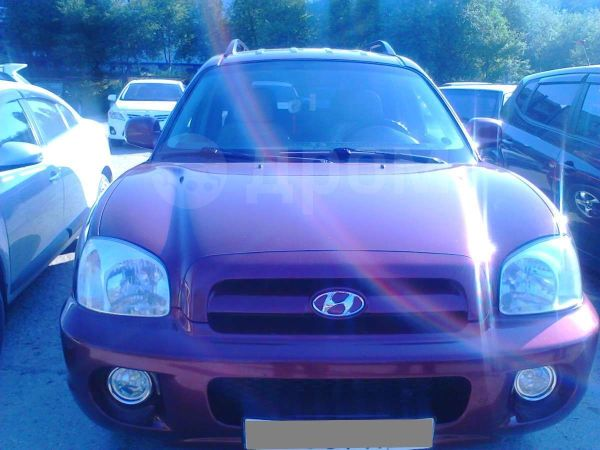 Hyundai Santa Fe, 2008 год, 465 000 руб.