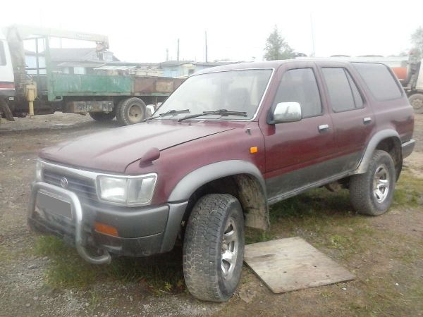 Toyota Hilux Surf, 1987 год, 125 000 руб.