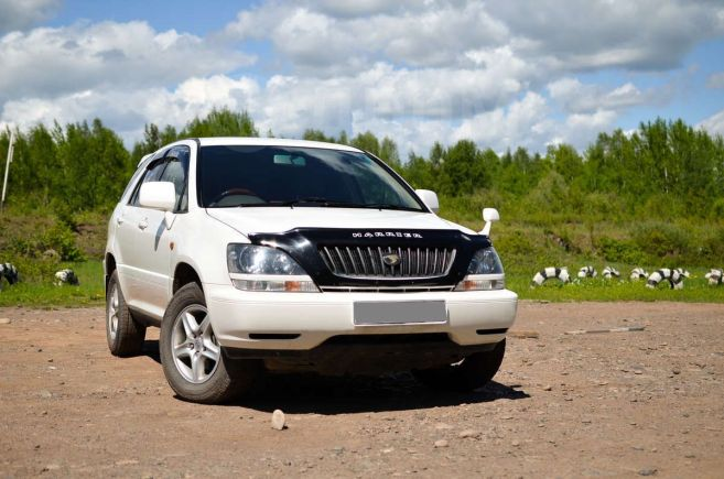 Toyota Harrier, 1999 год, 515 000 руб.
