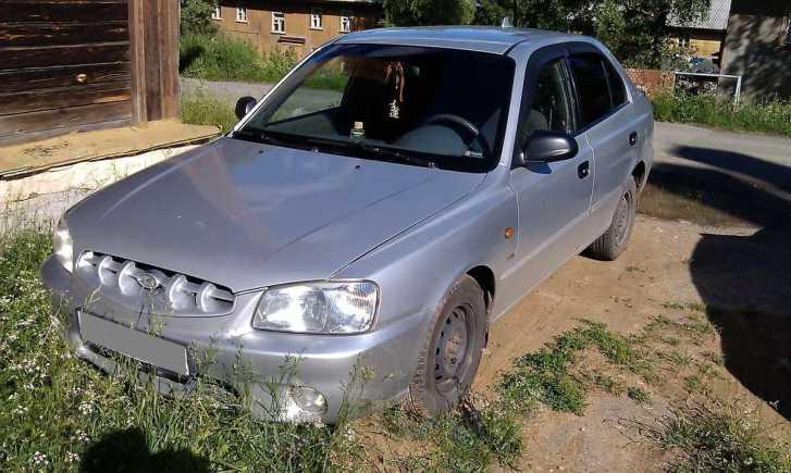 Hyundai Accent, 2001 год, 200 000 руб.