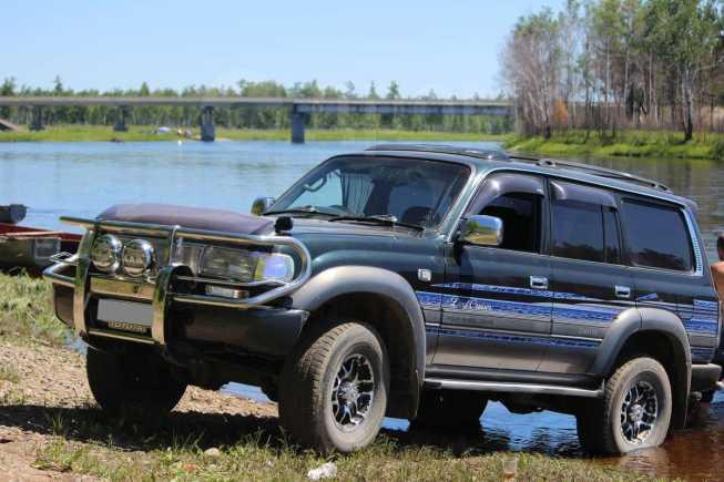 Toyota Land Cruiser, 1995 год, 850 000 руб.