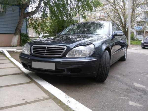 Mercedes-Benz S-Class, 2002 год, 560 000 руб.