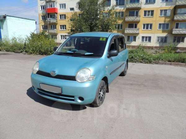 Toyota Sienta, 2003 год, 270 000 руб.