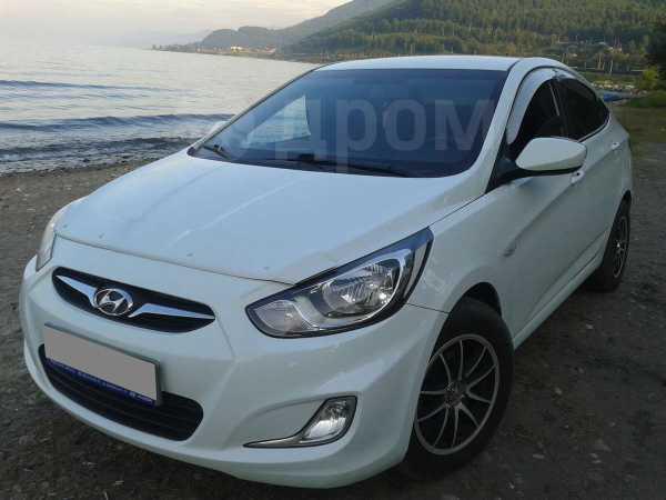 Hyundai Solaris, 2012 год, 444 000 руб.