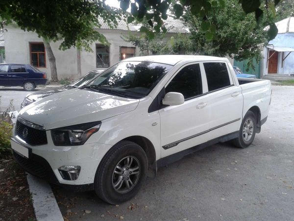 SsangYong Actyon Sports, 2014 год, 1 300 000 руб.
