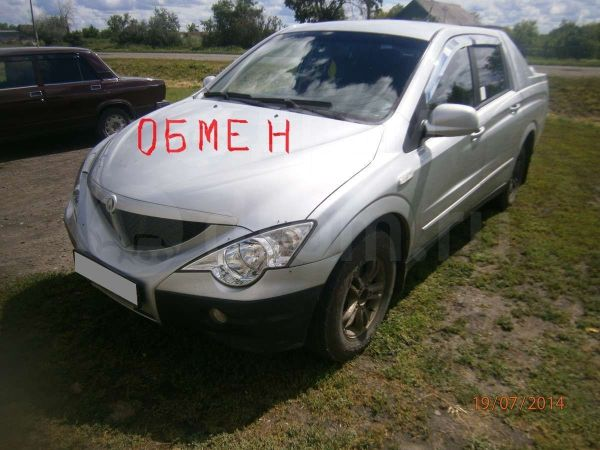 SsangYong Actyon Sports, 2007 год, 460 000 руб.