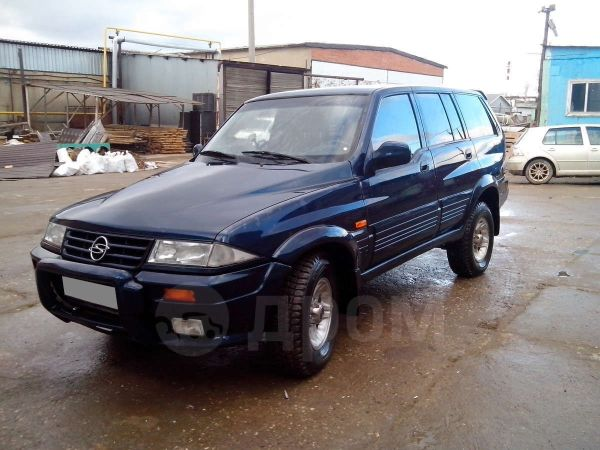 SsangYong Musso, 2007 год, 210 000 руб.