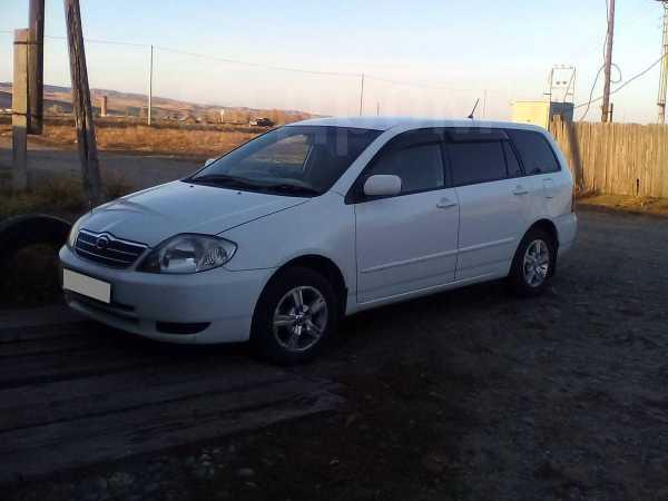 Toyota Corolla Fielder, 2001 год, 285 000 руб.