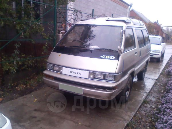 Toyota Master Ace Surf, 1989 год, 125 000 руб.