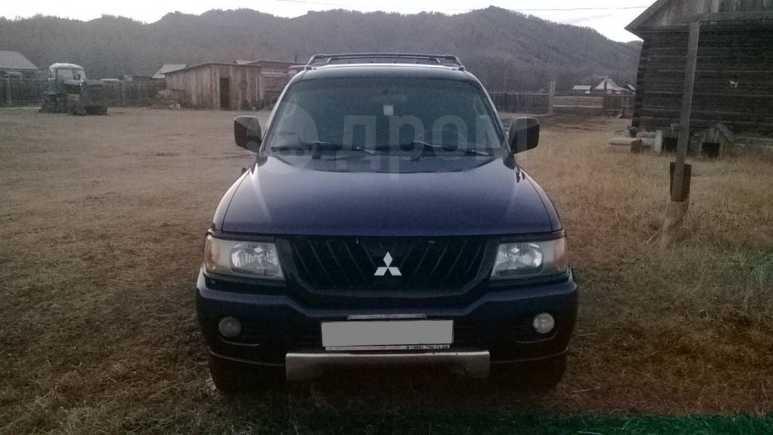 Mitsubishi Montero Sport, 2000 год, 535 000 руб.