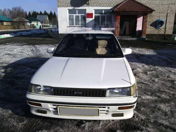 Toyota Corolla FX, 1990 год, 85 000 руб.