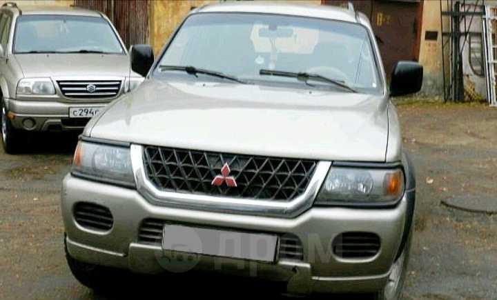 Mitsubishi Montero Sport, 2002 год, 460 000 руб.