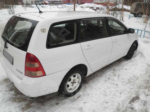 Toyota Corolla Fielder, 2002 год, 180 000 руб.