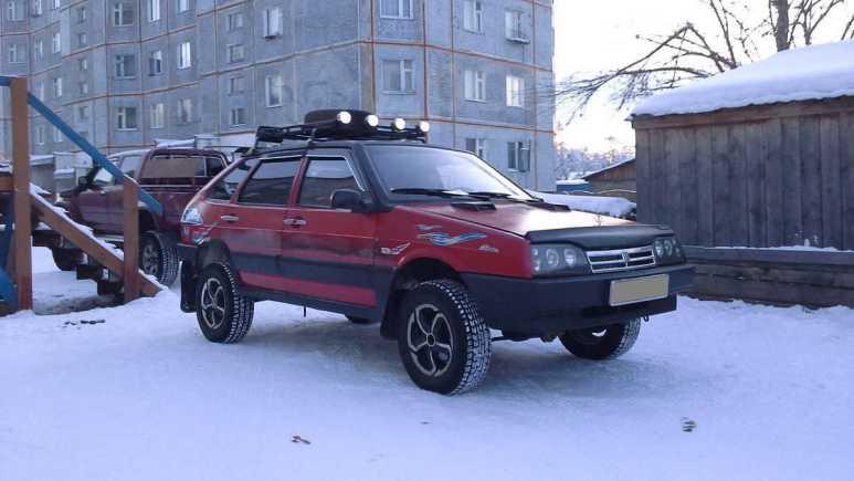 Лада 2109, 1999 год, 150 000 руб.