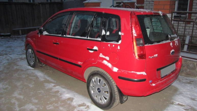 Ford Fusion, 2004 год, 230 000 руб.