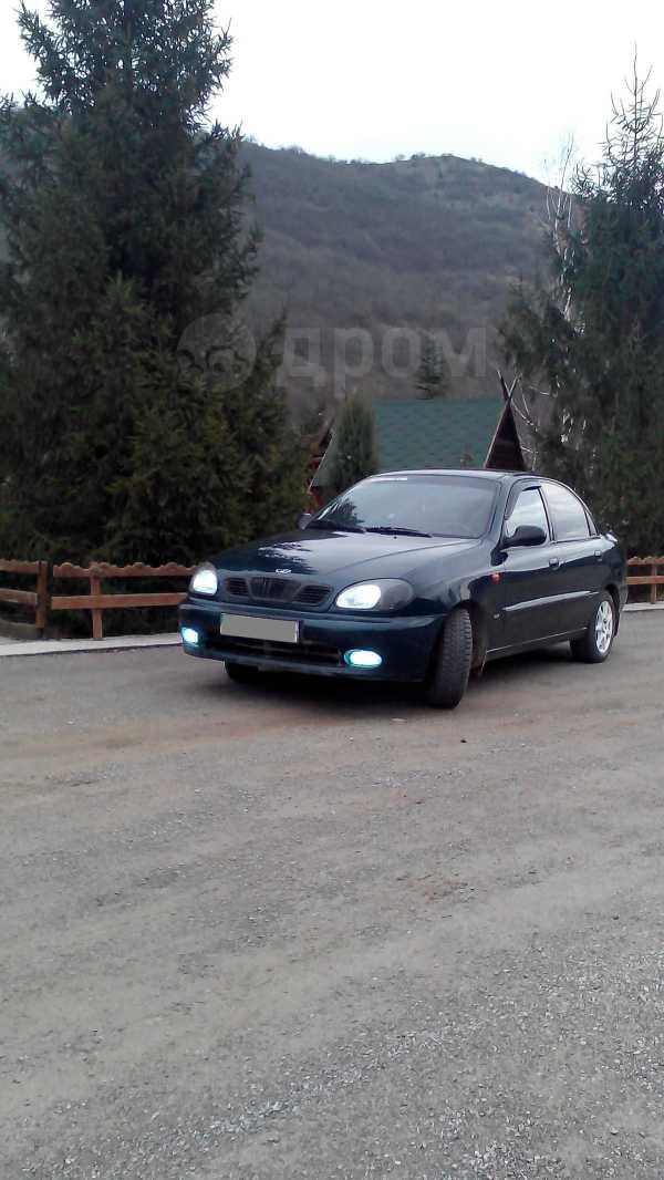 Daewoo Lanos, 2002 год, 200 000 руб.