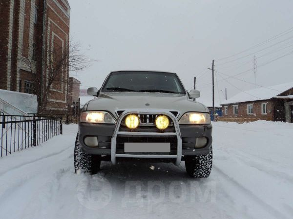 SsangYong Musso, 2001 год, 428 000 руб.