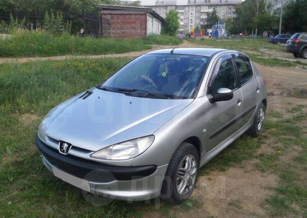 Peugeot 206, 2001 год, 200 000 руб.