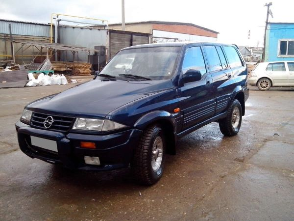 SsangYong Musso, 1997 год, 250 000 руб.