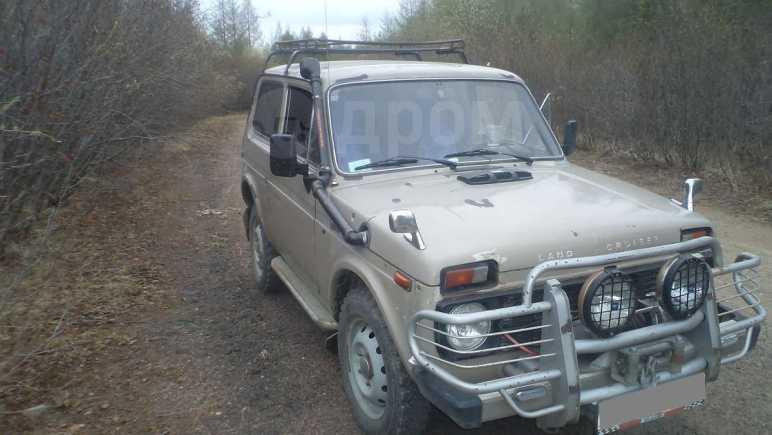 Лада 4x4 2121 Нива, 1988 год, 75 000 руб.
