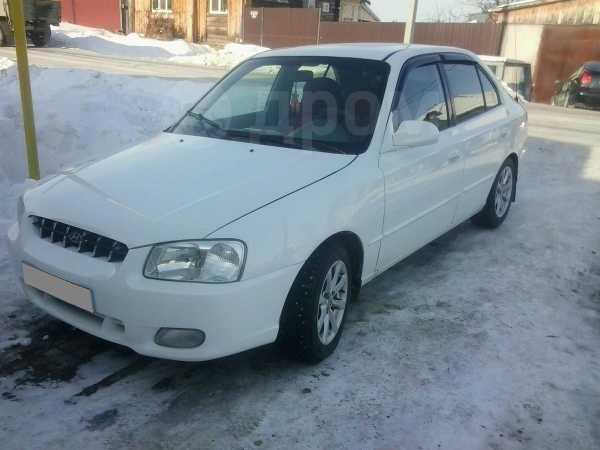 Hyundai Accent, 2000 год, 155 000 руб.