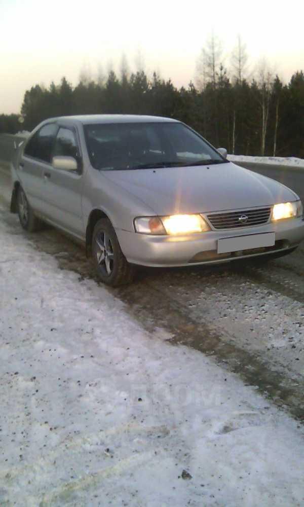 Nissan Sunny, 1996 год, 95 000 руб.