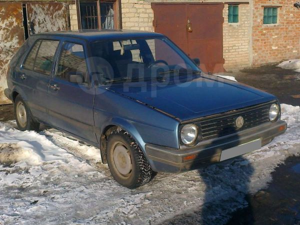 Volkswagen Golf, 1989 год, 75 000 руб.