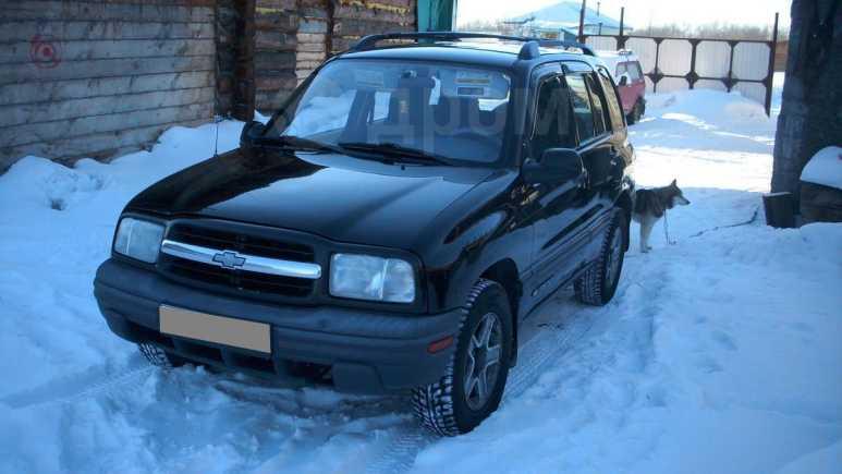 Chevrolet Tracker, 2001 год, 350 000 руб.
